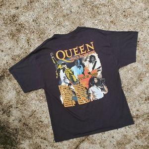 Y2K Queen + Paul Rogers 2006 Tour Crest Shirt